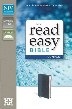 Holy Bible: New International Version, Slate Blue, Italian Duo-Tone, Readeasy Bible (Paperback)