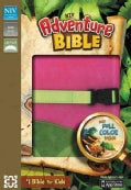 Adventure Bible: New International Version, Pink / Green Italian Duo-Tone, Clip Closure (Paperback)