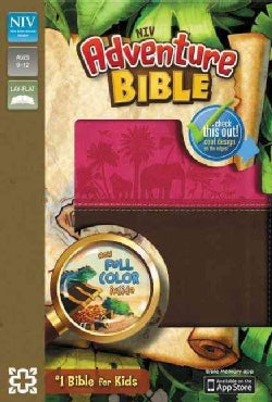 Adventure Bible: New International Version, Chocolate / Hot Pink Italian Duo-Tone (Paperback)