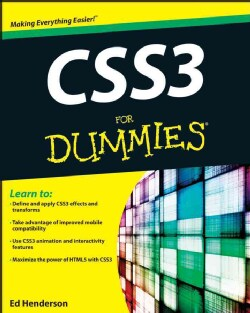 CSS3 for Dummies (Paperback)