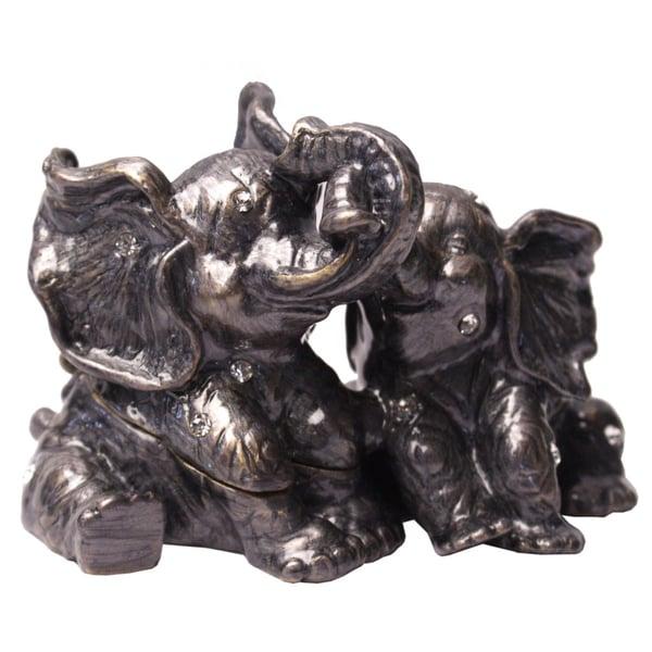 Cristiani Elephant Trinket Box