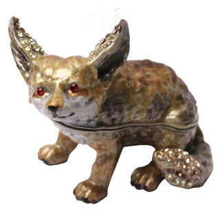 Cristiani Fox Trinket Box
