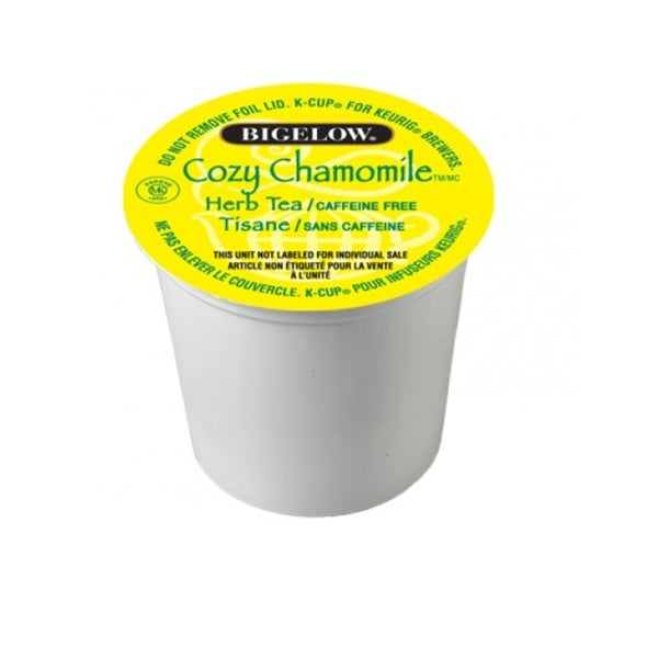 Bigelow Cozy Chamomile Tea K-Cup Portion Pack for Keurig Brewers (Case of 96)