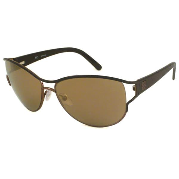 Givenchy Women's SGV356 Rectangular Sunglasses