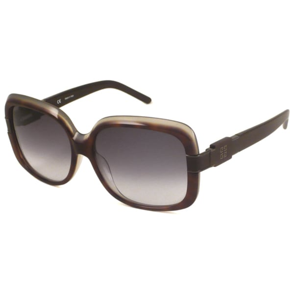 Givenchy Women's SGV691M Rectangular Sunglasses