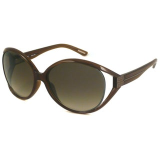 Givenchy Women's SGV670G Oval Sunglasses