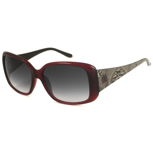 Givenchy Women's SGV718 Rectangular Sunglasses