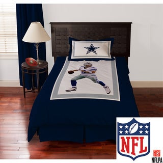 NFL Dallas Cowboys Tony Romo 4-piece Comforter Set
