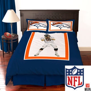 NFL Biggshots Denver Broncos Peyton Manning 4-piece Comforter Set