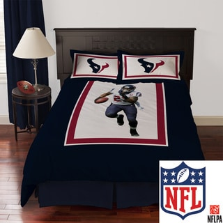 NFL Biggshots Houston Texans Arian Foster 4-piece Comforter Set