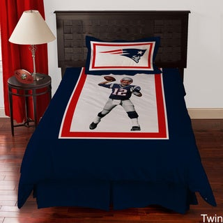 New England Patriots Tom Brady 4-piece Comforter Set
