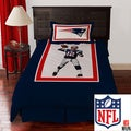 NFL Biggshots New England Patriots Tom Brady 4-piece Comforter Set