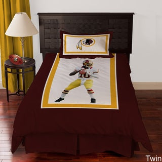 Washington Redskins Robert Griffin III 4-piece Comforter Set