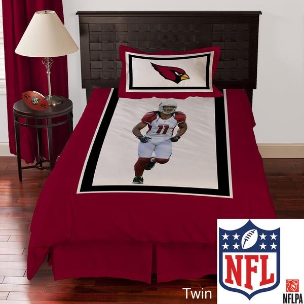 NFL Biggshots Arizona Cardinals Larry Fitzgerald Biggshots 4-piece Comforter Set