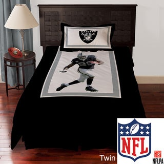 NFL Biggshots Oakland Raiders Darren Mcfadden 4-piece Comforter Set