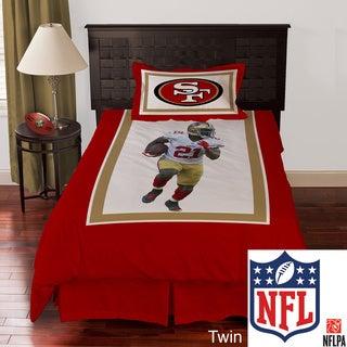 NFL Biggshots San Francisco 49ers Frank Gore 4-piece Comforter Set