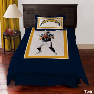 San Diego Chargers Philip Rivers 4-piece Comforter Set