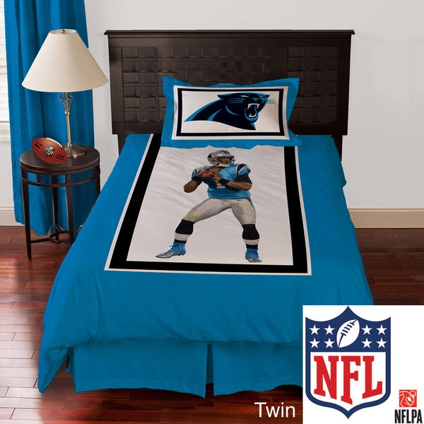 NFL Biggshots Carolina Panthers Cam Newton Biggshots 4-piece Comforter Set