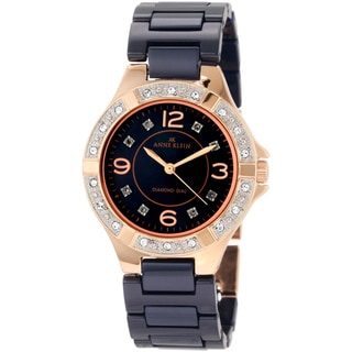 Anne Klein Women's Blue Ceramic Watch