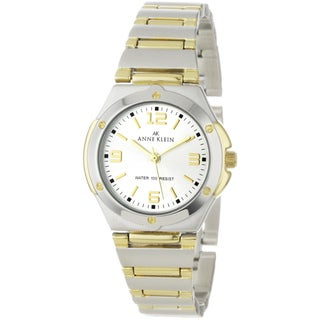 Anne Klein Women's Silver Stainless-Steel Quartz Watch