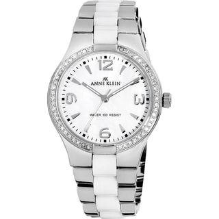 Anne Klein Women's Silver Stainless Steel Watch