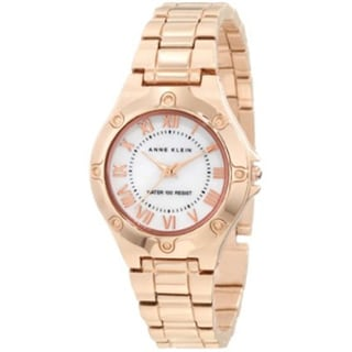 Anne Klein Women's Goldtone Stainless Steel Watch