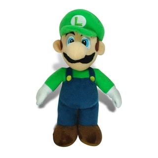 Nintendo Super Mario Brothers Luigi 12-inch Large Plush