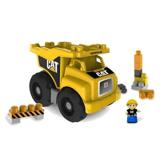 Mega Bloks CAT Large Vehicle Dump Truck