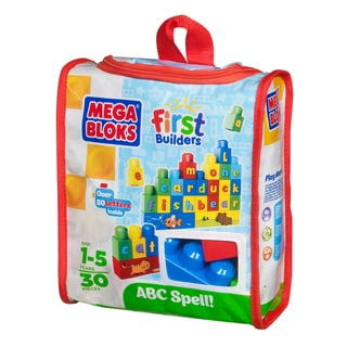 Mega Bloks Build 'n Learn ABC Spelling Playset