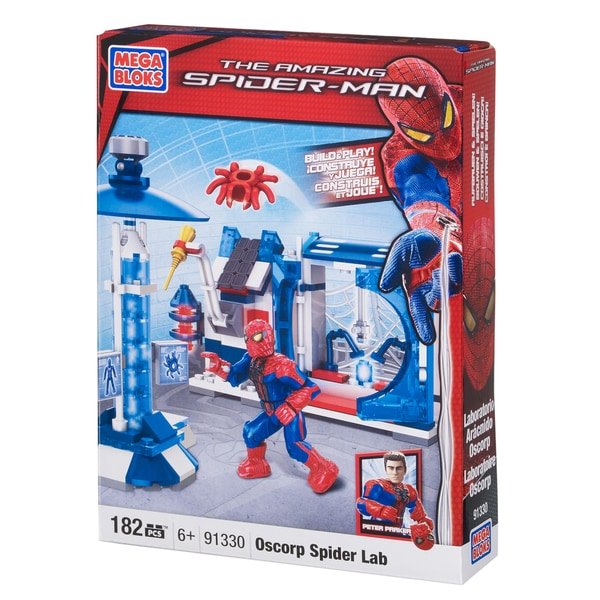 Mega Bloks Spiderman Oscorp Spider Lab 10354126
