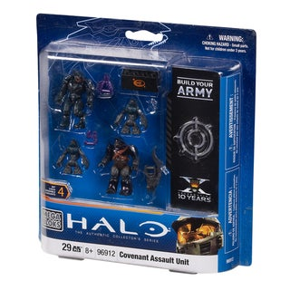 Mega Bloks Halo Combat Unit Covenant Assault Unit Playset