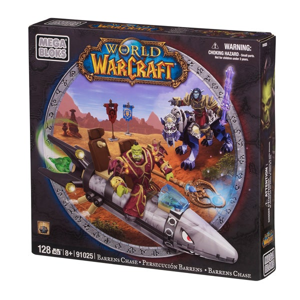 Mega Bloks World of Warcraft Barren Lands Chase Playset 10354128
