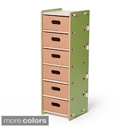 Sprout Kid's 6-drawer Shelved Organizer