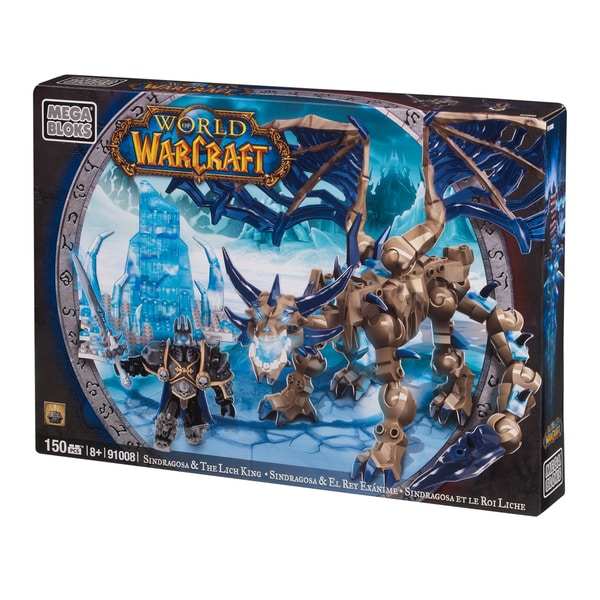 Mega Bloks World of Warcraft Arthas and Sindragosa Playset 10354135