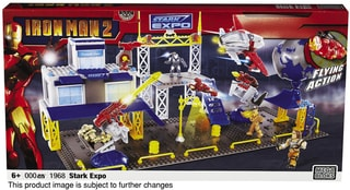 Mega Bloks Iron Man 2 Expo Playset