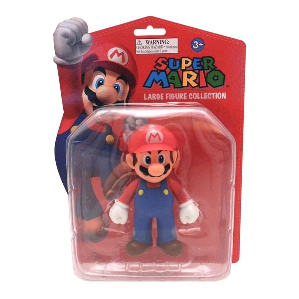 Nintendo Super Mario Brothers Mario 5-inch Deluxe Figure 10354139