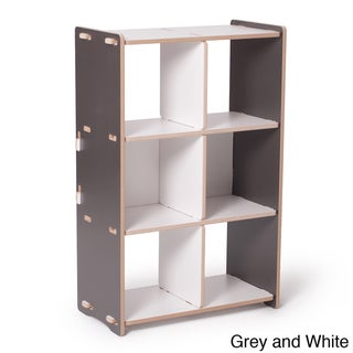 Sprout Kid's 6-cubby Storage Shelf