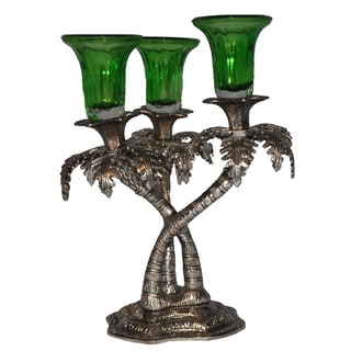 Palm Tree Candle Holder