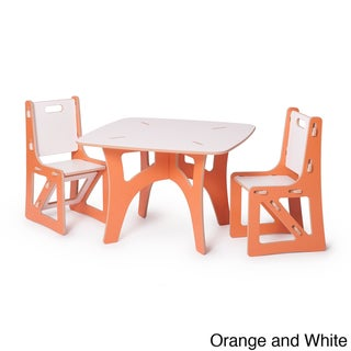 Sprout Kid's Table and 2-piece Chairs Set