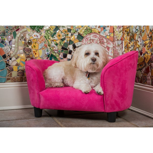 Enchanted Home Pet Pink Snuggle Bed