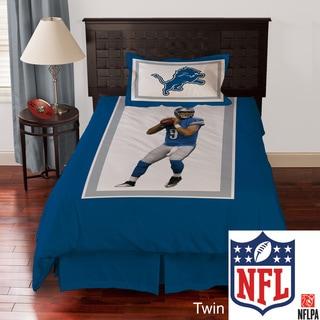 NFL Detroit Lions Matthew Stafford 4-piece Comforter Set