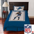 Detroit Lions Matthew Stafford 4-piece Comforter Set