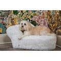 Enchanted Home Pet Furry Chaise Lounge