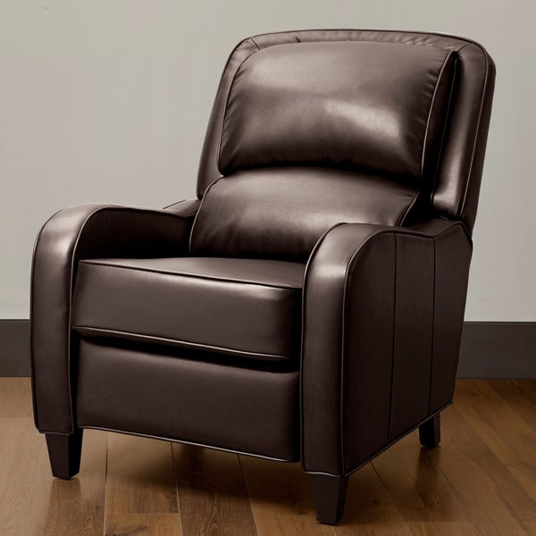 Filmore Brown Bonded Leather Recliner