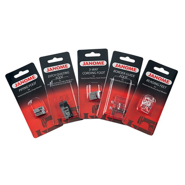 Janome Sewing Feet Kit (Set of 5)