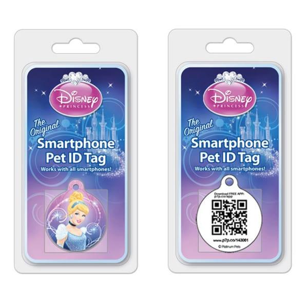 Platinum Pets Disney 1-inch Smartphone Pet ID Tag