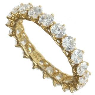 Michael Valitutti Signity 14k Yellow Gold Cubic Zircona Ring