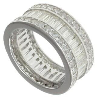 Michael Valitutti Signity 14k White Gold Cubic Zircona Ring