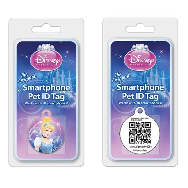 Platinum Pets Disney 1.25-inch Smartphone Pet ID Tag
