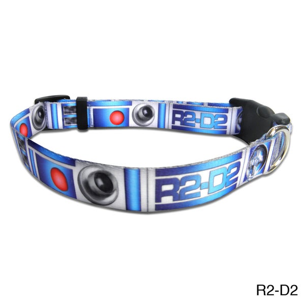"Platinum Pets Star Wars 1"" Nylon Collar"